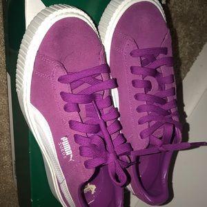 Puma Suede Platform shoes